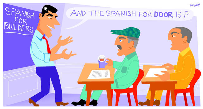 Spanish for builders Digital width=