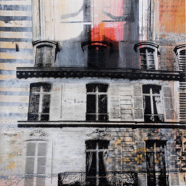 Urban Versailles Mixed Media 30x30cm