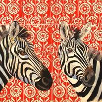 hidden Zebras on blockprint