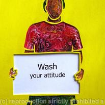 hidden Wash your attitude