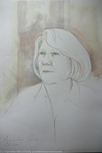 Sheila Rule Coloured Pencils 30x42cm
