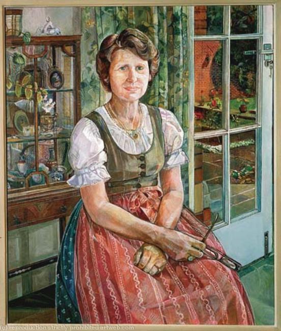 Mre Bunzel Oil on Canvas width=