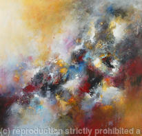 Strata 28 Large Contemporary Abstract Painting on Canvas