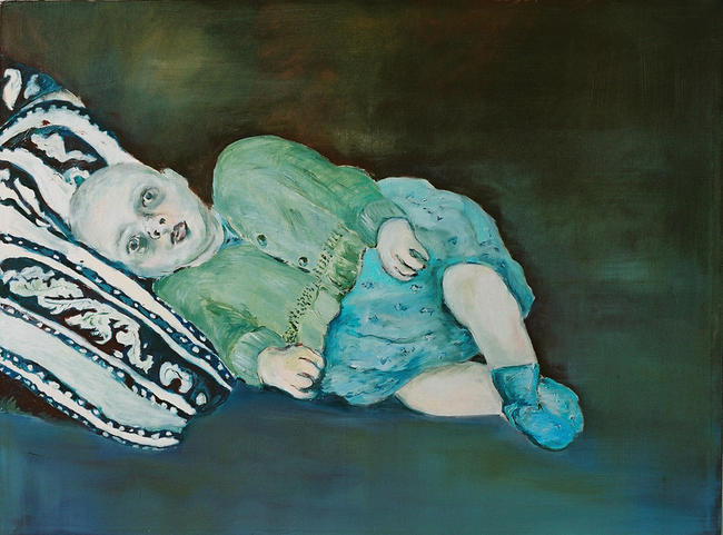 Baby no. 4 Oil on canvas 2004 122x92cm