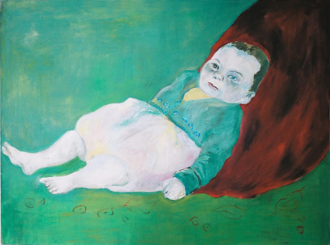 Baby no.8 Oil on canvas 2005 122x92cm