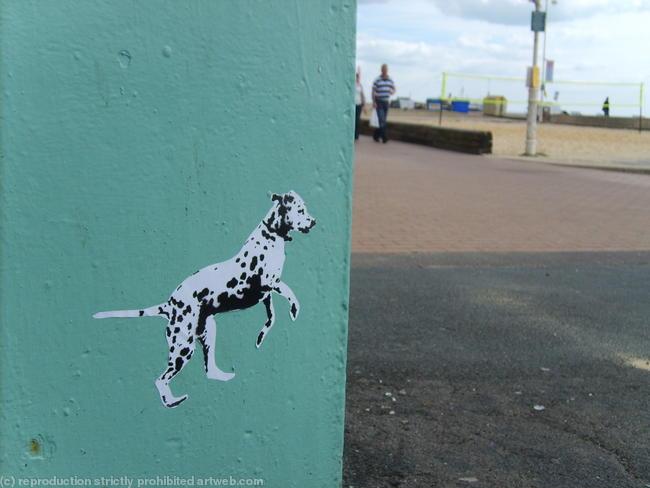 Spot Dog Run Brighton beach width=