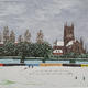 worcester cricket ground in winter I