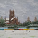 worcester cricket ground in winter II