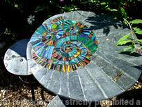 Garden furniture: Ammonite patio set
