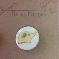 hidden Little elephant Brooch