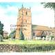 Astley St Peters church Near stourport as a greeting card or bespoke notelet. Prints and postcards available.