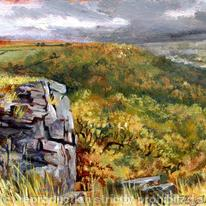 hidden View to Froggatt Edge