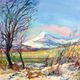 Winter Sun, Ben Ledi