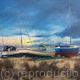 Boats at Morston, Norfolk.