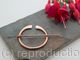 Penannular Brooch - Shiny Copper - large - Celtic brooch