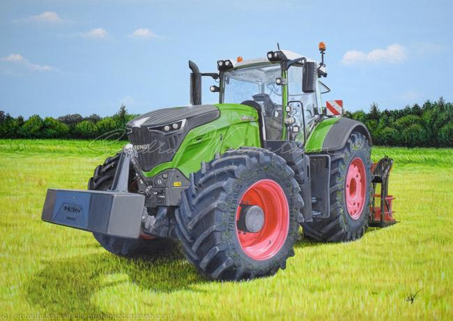 Fabelhaft Fendt 1050 Vario Style Painting A3 by Sandra Warmerdam #VH_92