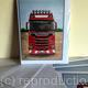 Scania S580 V8, Greeting card