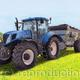 New Holland T7.220 with Spreader Painting