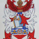 Armorial Bearings of Ian Alastair Kirk