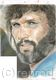 For sale.:Kris Kristofferson closeup.American singer Actor. drawing by me SussiQPersson