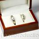 Commission: Wedding Rings in Wooden Display Box