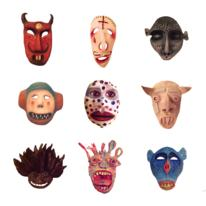 hidden Jason Adamson masks…