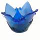 Deep Blue Turquiose Tea Light