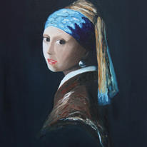 hidden Girl with a Pearl Earring…